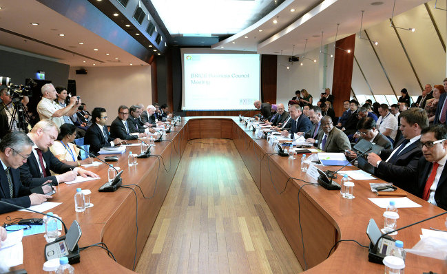 Заседание Делового совета БРИКС