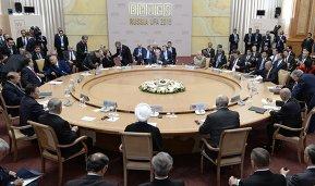 Встреча лидеров БРИКС с лидерами приглашенных государств