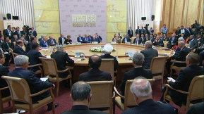 Встреча лидеров БРИКС с приглашенными_Rus