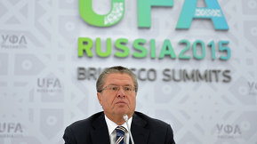 Брифинг Министра экономического развития РФ Алексея Улюкаева_eng