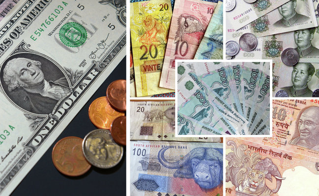 Валюты стран БРИКС и доллар