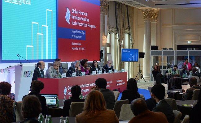 Глобальный форум по вопросам реализации программ социальной поддержки в области продовольственной безопасности и питания: на пути к партнерству в целях развития