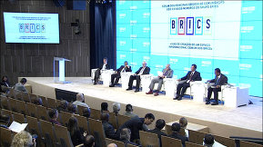 "The opening of the forum of the heads of the BRICS countries' leading media outlets ""Towards Creating a Common Information Space for the BRICS Countries"""
