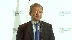 Пресс-подход Министра сельского хозяйства Российской Федерации Александра Ткачева
