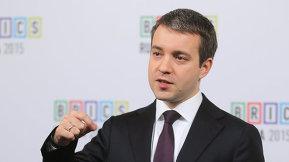 Пресс-подход Министра связи и массовых коммуникаций Российской Федерации Николая Никифорова
