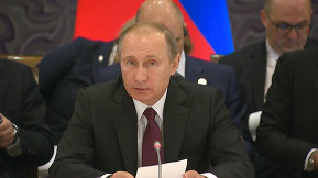 Russian President Vladimir Putin's speech at an informal meeting of BRICS leaders