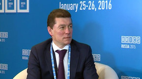 Интервью Министра труда и социальной защиты Российской Федерации Максима Топилина в рамках встречи министров труда и занятости